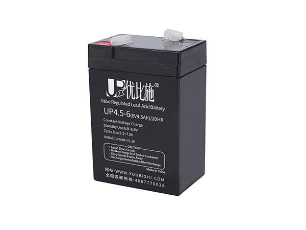 蓄电池6V4.5Ah ups电池(应急灯电池 应急照明灯电池)