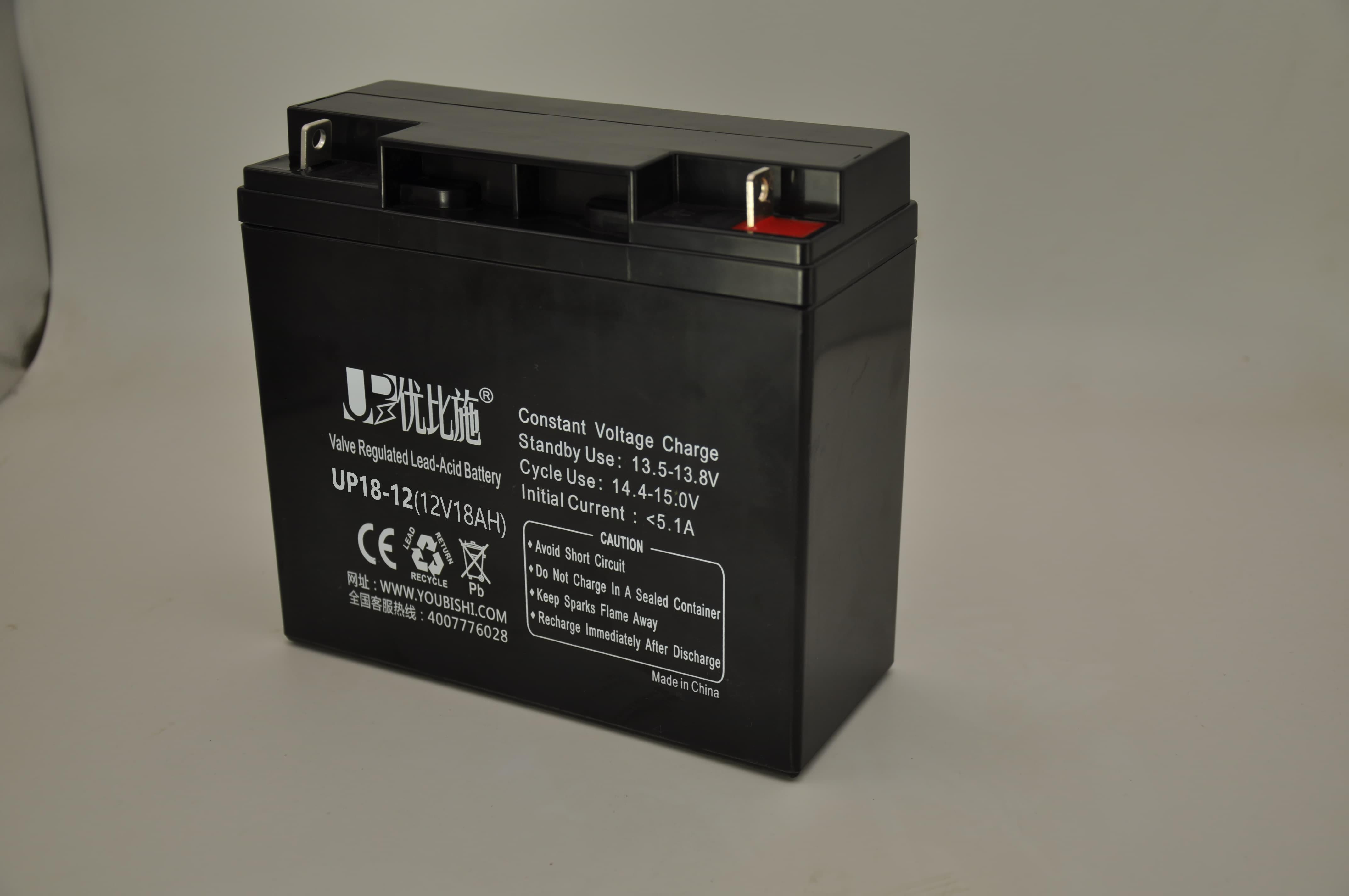 12V18Ah免维护蓄电池-UPS电池报价-电池型号